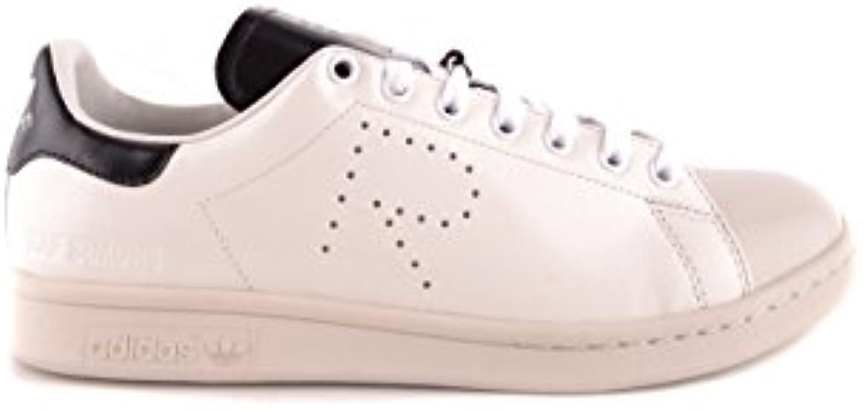 RAF SIMONS Herren BB6733FWHITE Weiss Leder Sneakers