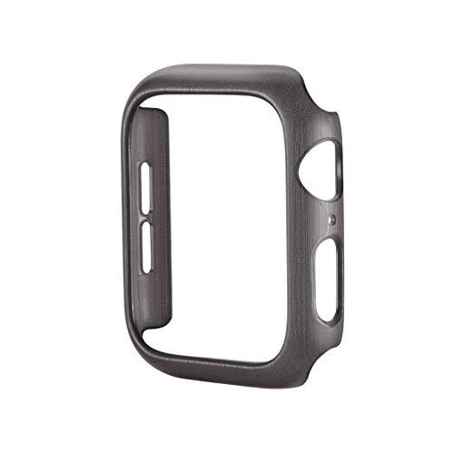 Yallylunn GebüRsteter Pc Koffer FüR Einfache Installation, Demontage Wasserdichtigkeit Und Schmutzresistenz FüR Apple Watch 44Mm