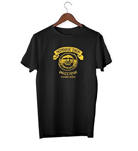 The Wicker Man Sunlight Logo_KK017053 Shirt T-Shirt für Männer Herren Tshirt for Men Gift for Him Present Birthday Christmas - Men's - Large - White - Man-shirt Wicker