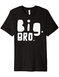 Drillinge T-Shirt Partnerlook Big Bro Geschwister Shirt