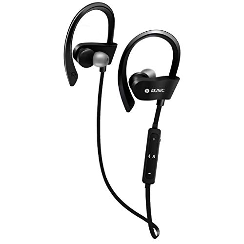 Khool Auriculares Inalambricos Deportivos. Auriculares Deportivos Bluetooth 4.2. Auriculares Inalambricos para iPhone y Android Resistentes al Agua y con Reducción de Ruido. Ideal para Deportistas