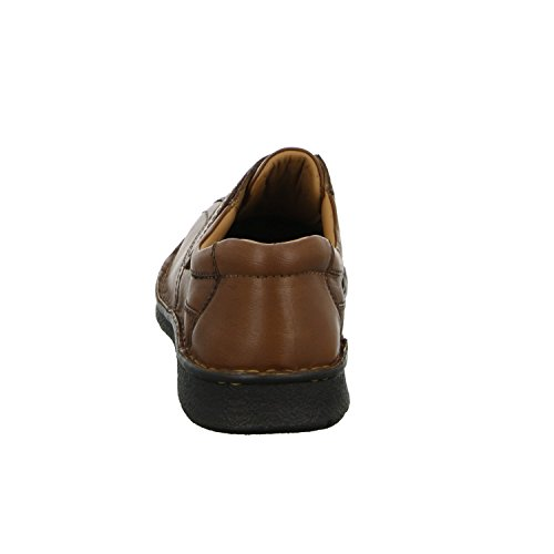 scarbello Y01-Y01-02 Herren Slipper Halbschuh Komfort sportlicher und eleganter Boden Braun (Braun)