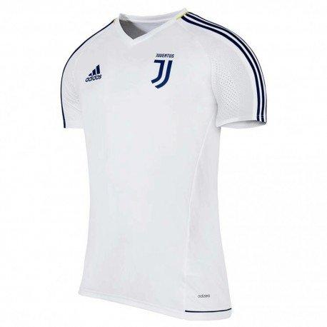 adidas Herren Turin Juventus Trainingstrikot, Bianco/Azunoc/Dorfue, L