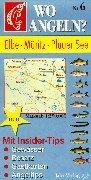 Wo angeln?, Nr.6, Elbe, Müritz, Plauer See (Wo angeln? / Karten)