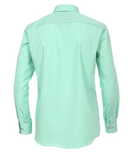 Michaelax-Fashion-Trade -  Camicia classiche  - Basic - Classico  - Maniche lunghe  - Uomo verde (300)