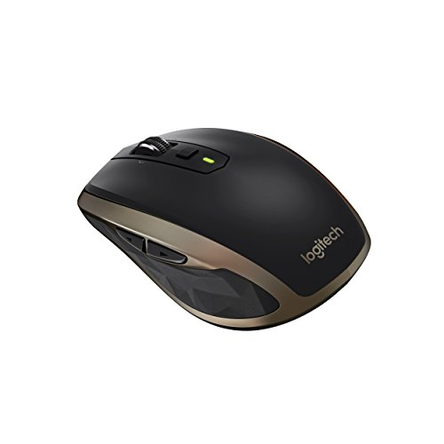 Logitech MX Anywhere 2 - Ratón inalámbrico para Windows/Mac (Bluetooth, Unifying), color negro