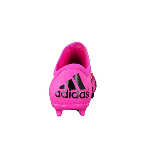 Chaussures de football adidas x 15.2 FG/AG Shock pink-solar green-core Black rose