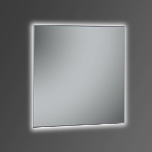 Kristaled Khan 80x80 cm Espejo Baño Retroiluminación