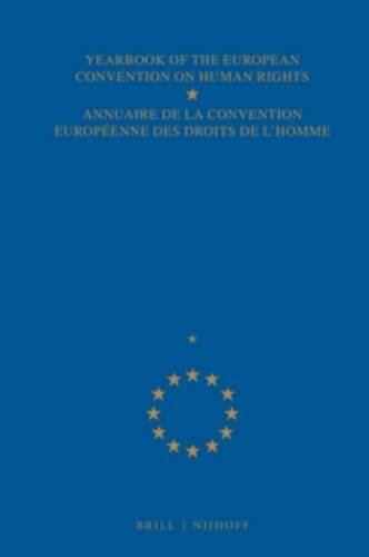 Yearbook of the European Convention on Human Rights - Annuaire de la Convention Europeenne des Droit de l'Homme, Vol. 1:1955-1956-1957 (Documents and ... convention europeenne des droits de l'homme)