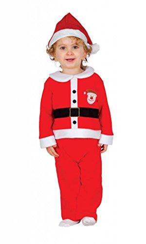 Santa Claus Kostüm Größe 6-12 Monate Baby Santa