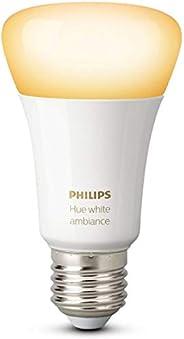 Philips Lighting White Ambiance Lampadina LED E27, 1 Pezzo, 9 W, Bianco [Classe di efficienza energetica A+]