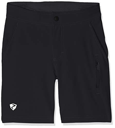 Ziener Kinder Congaree X-Function jun (Shorts) Fahrrad, Black, 152