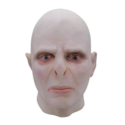 Harry Potter Lord Voldemort Maskenchef Latexmasken Cosplay Scary Minecraft Terrorizer Mask, wie auf dem Bild