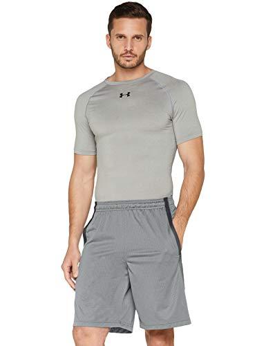 Under Armour Herren Tech Mesh Shorts, Steel, M