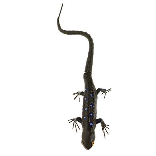 FLAMEER Modèle Insectes Simulés Sculptures Miniatures Animaux realistes - Gecko