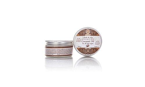 100 % reines Kokosöl Kokosfett raffiniert für die Haarpflege 100 g