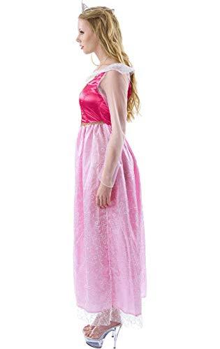 Rosa Märchen Prinzessin Kleid Kostüm Karneval Fasching Verkleidung - 2