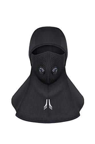 Cagoule Respirant Masque de V/élo Noir