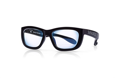 Shadez Unisex Shz 103 Brillengestell, Schwarz (Black), Large (Herstellergröße: 16+ Jahre)
