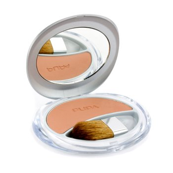 pupa Silk Touch Compact Blush Compact Blush with Aloe Vera # 10 (Peach) 7 g/0.24oz – Make-Up