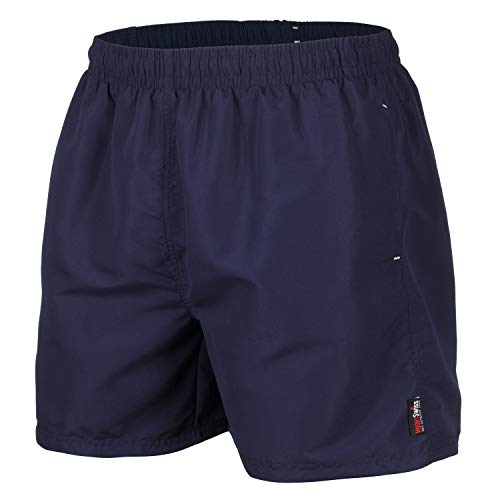 Mount Swiss Herren MS Badeshort, 5013, Navy.Blue, Gr. M