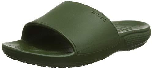 Crocs Classic II Slide, Scarpe da Spiaggia e Piscina Unisex-Adulto, Verde (Army Green 000), 39/40 EU