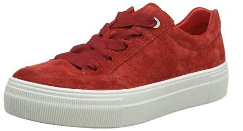 Legero Damen Lima Sneaker Rot (Red) 50, 37 EU