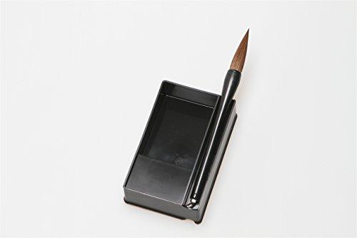 Black Body New Kaimei Natural Weasel Hair Sumi Brush Pen