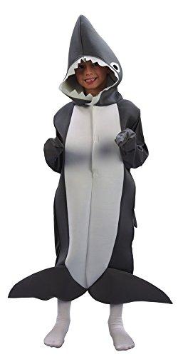Generique - Hai-Kostüm für Kinder 134/140 (10-12 - Hai Kinder Kostüm