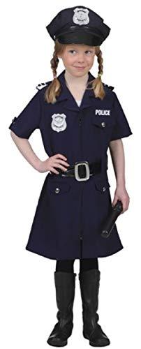 Fancy Me Mädchen Navy Polizei Offizier Notdienst Uniform Beruf Weltbuch Tag Woche Kostüm Outfit 4-14 Jahre (Mädchen Blaue Polizei Offizier Kostüm)