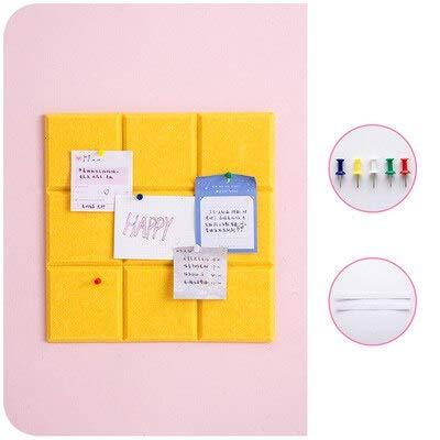 QWER Set Schöne Filz Brief Bord Message Board Home Office Decor Board Foto Display Platte Für Kinderzimmer Wandaufkleber Dekor