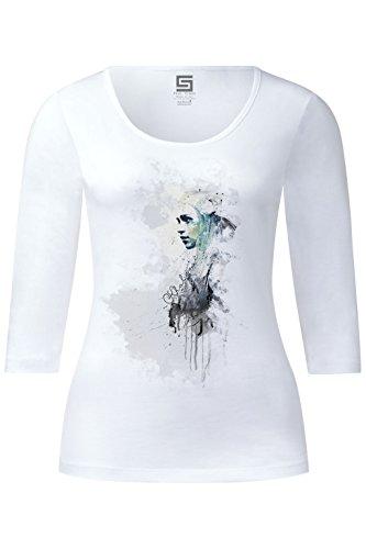 Khaleesi Game of Thrones Ladies 3/4 Arm Designer Shirt Sleeve Stretch Tee Long Sleeve (Sleeve 3/4 Stretch-shirt)