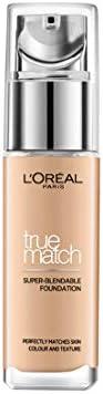 L'Oreal Paris True Match Super Blendable Liquid Foundation Golden Beige 3D3W,