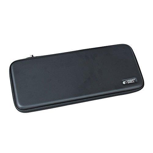 Per Logitech Wireless Tastiera Touch K400Plus TouchPad integrato da viaggio rigida EVA Custodia protettiva Custodia Cover Borsa Dimensioni compatte by Hermitshell