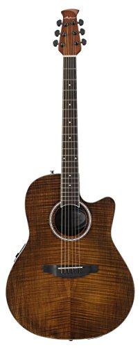 Ovation Applause Guitarra Electro-Acústica Mid Cutaway vintage on flame AB24IIP-VF