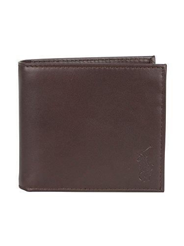 polo-ralph-lauren-homme-billfold-wallet-logo-marron-one-size