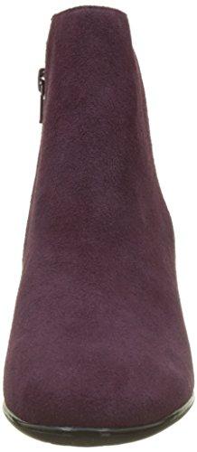 Jb Martin Damen Cap Kurzschaft Stiefel Violet (Che Velours/Che Dots Prugna)
