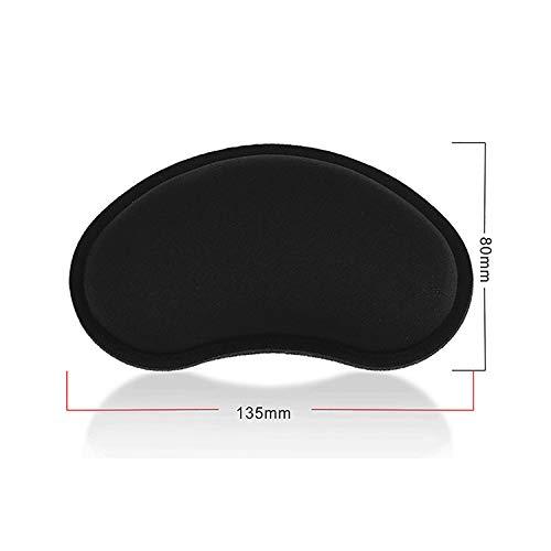 Preisvergleich Produktbild Lomas ergonomische Mauspad gel Handgelenkauflage Maus Handballenauflage Anti-Sehnenscheidenprobleme für Computer und Laptop, schwarz