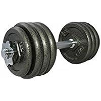 LiveUP Sports - Set 20Kg Mancuernas Discos Peso Entrenamiento Gimnasio Casa Fitness Musculación