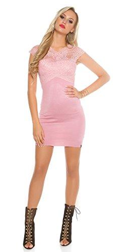 In-Stylefashion - Robe - Femme rose Rose foncé taille unique Rose foncé
