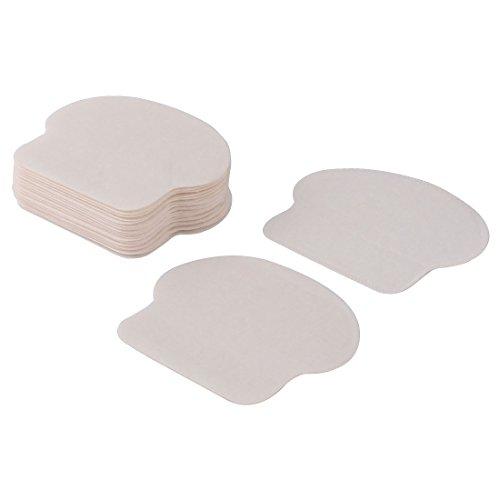 sourcingmap Aisselle unisexe disponible déodorant aisselles absorber blanc autocollant 20pcs