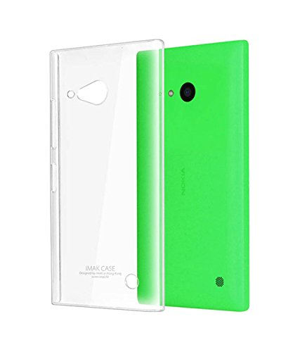 OFM Transparent Soft Back Case Cover for Nokia Lumia 730 - Transparent  available at amazon for Rs.179