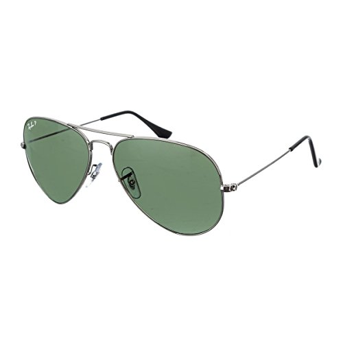 a85bee81bc493 Ray-Ban RB3025 177 58 Aviator Large Metal Aviator Sunglasses