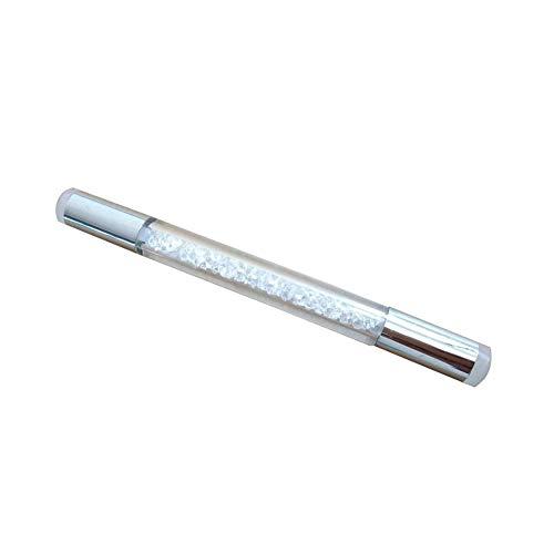 Yeshai3369 Nagelkunst Pinselstift, Schwamm, doppelter Kopf, waschbarer Transferdruck, Druckvorlage, Werkzeug