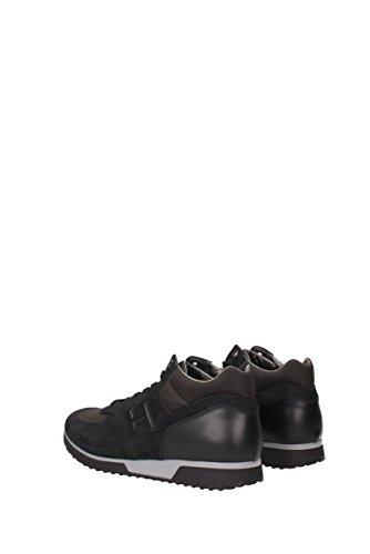 Baskets Hogan Pour Homme - Daim (hxm1980l180e5i) Eu Noir