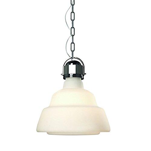 Diesel With Foscarini Glas Grand Lampe Suspendue Blanche