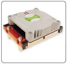 Refroidisseur cPU 1U aktiv 1U pour processeur socket 604 38
