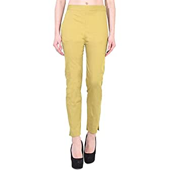 ROOLIUMS (Brand Factory Outlet Trendy and Stylish Cotton Lycra Chinos/Pants/Trousers - Free Size