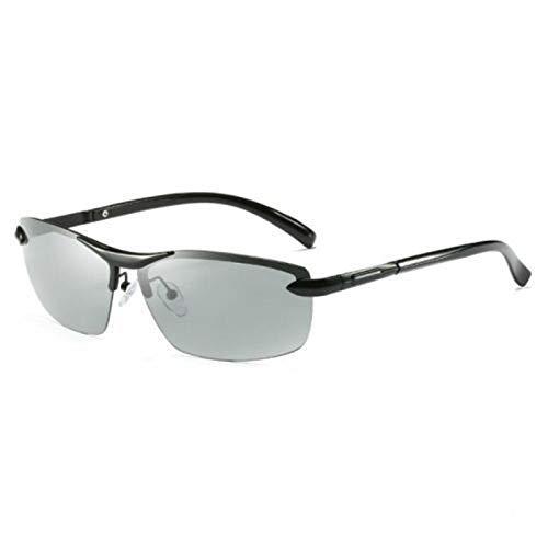 WBAHJDriving Photochromic Sunglasses Men Polarized Chameleon Verfärbung Sonnenbrille für Männer Frauen UV400 Male Drive Brille
