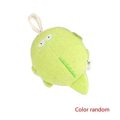 Masterein Cute Animal Design Baby-Bad-Schwamm-Runde Cotton Dusche Puff Körperreinigung Softbürste Handtuch Ball - Dusche Puff